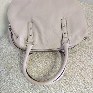 kate spade Bags - Kate Spade NY Cream Pebbled Leather Bag
